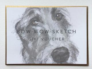 Gift Voucher A3 Sketch Portrait